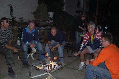 26. apríl 2009, Stretnutie bonsai klubu s hosťami Cyrilom Tatranským a Petrom Roškom