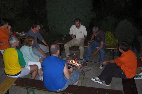 17. máj 2009, Tvorivá dielňa a zároveň aj stretnutie bonsai klubu.