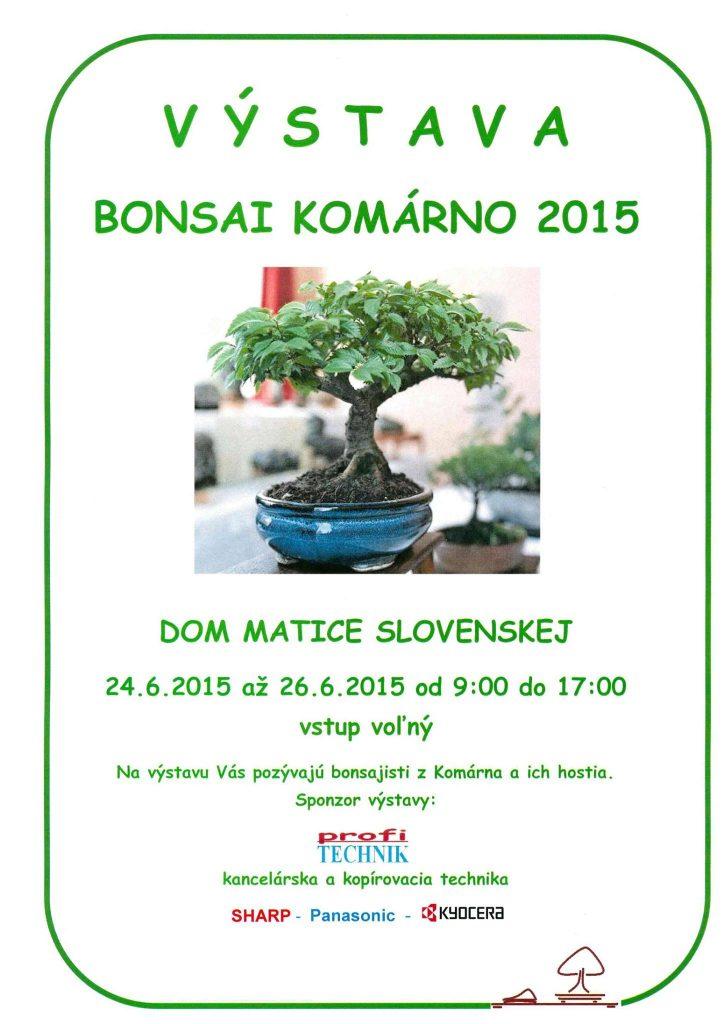 Bonsai Komárno 2015