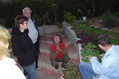 Máj 2008, stretnutie u Martinky Vyhlidalovej