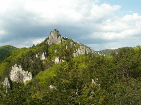 2. máj 2008, výlet na výstavu v Bojniciach, Súľov a suiseki pri Váhu.
