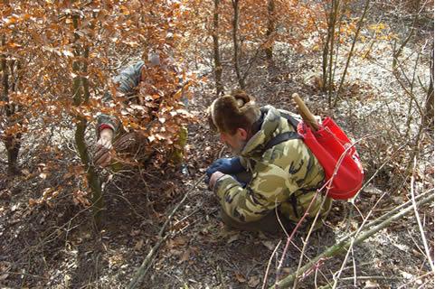 Február 2008, čas na výlety do kopcov