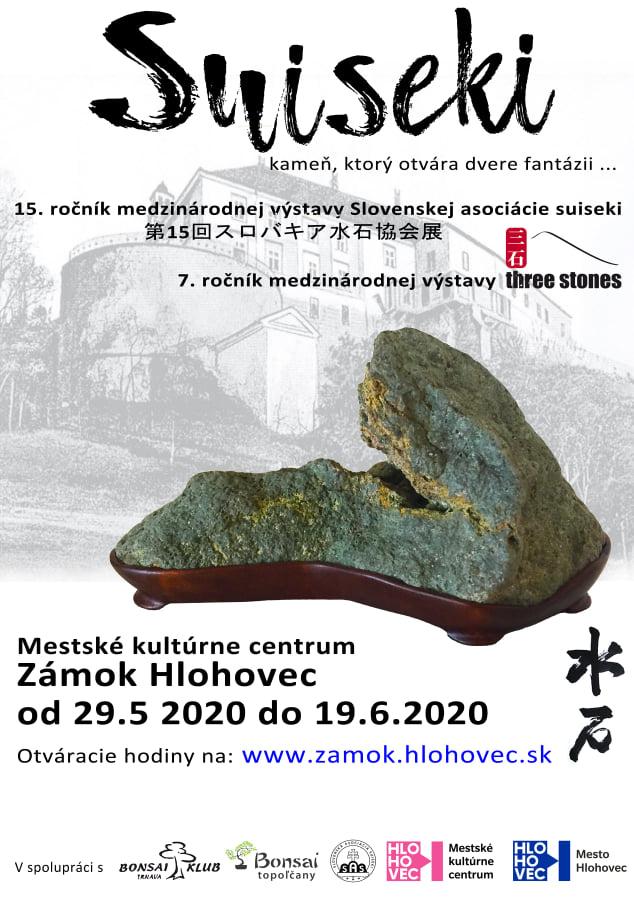 Medzinárodná výstava suiseki v Hlohovci